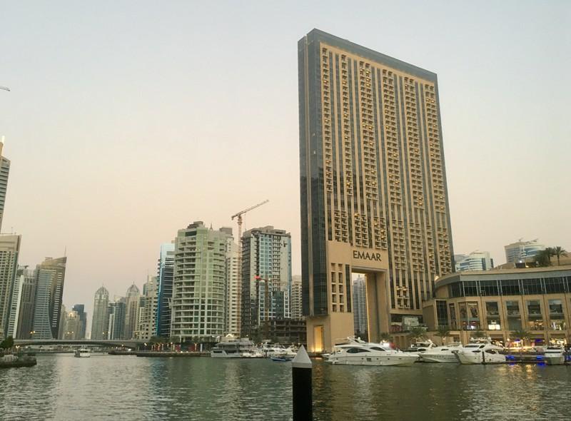Dubai Marina, a very small portion of it