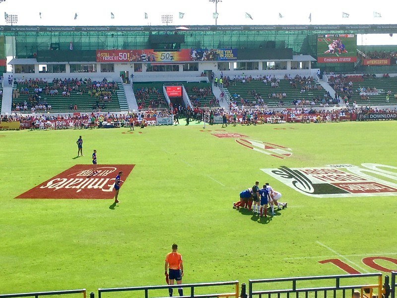 Rugby 7's (England vs France)