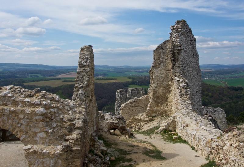 Inside Čachtice Castle