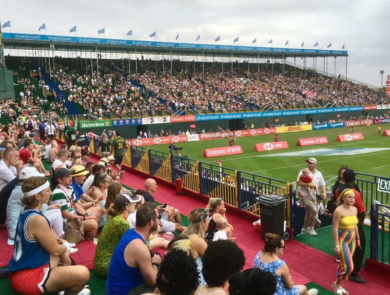 Crowd at Rugby 7's