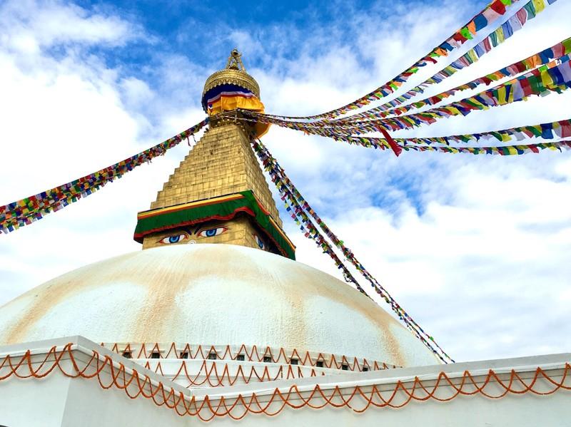 The Great Stupa, Kathmandu