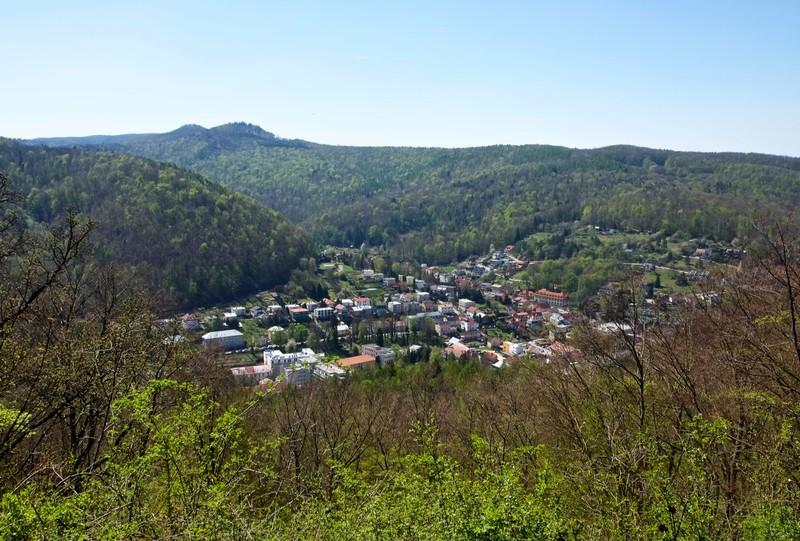 View of Trenčianske Teplice