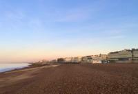 Sunrise over Hove Beach