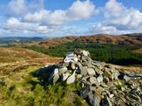 Cornish hill summit