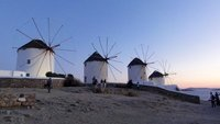 Windmills at Mykonos