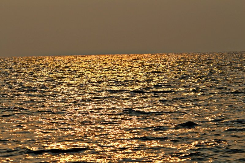 Sunset over the sea BY altaffotos