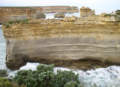 Loch Ard Gorge rock formations