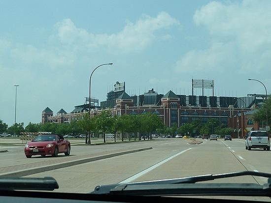 Rangers baseball stadium
