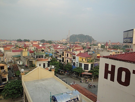 View of Ninh Binh