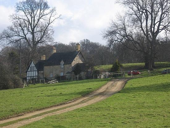 Past a farm