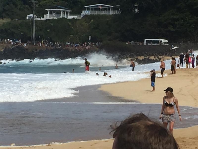 Splitting the beach in 2