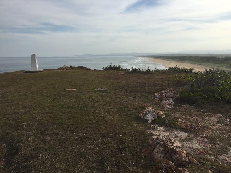 Headland memorial to lost rock fishermen