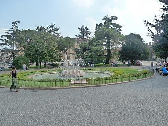 Fountain in Piazza Bra