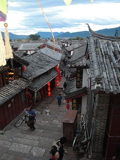 Lijiang streets