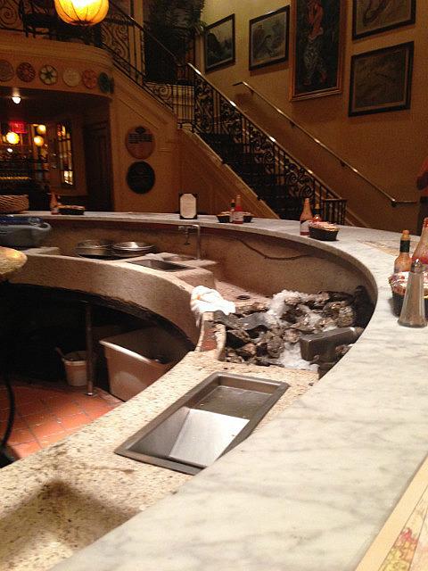 Oyster Bar for dinner