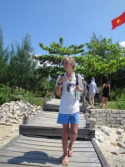 Leaving 1st Island
