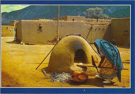 Oven on the pueblo