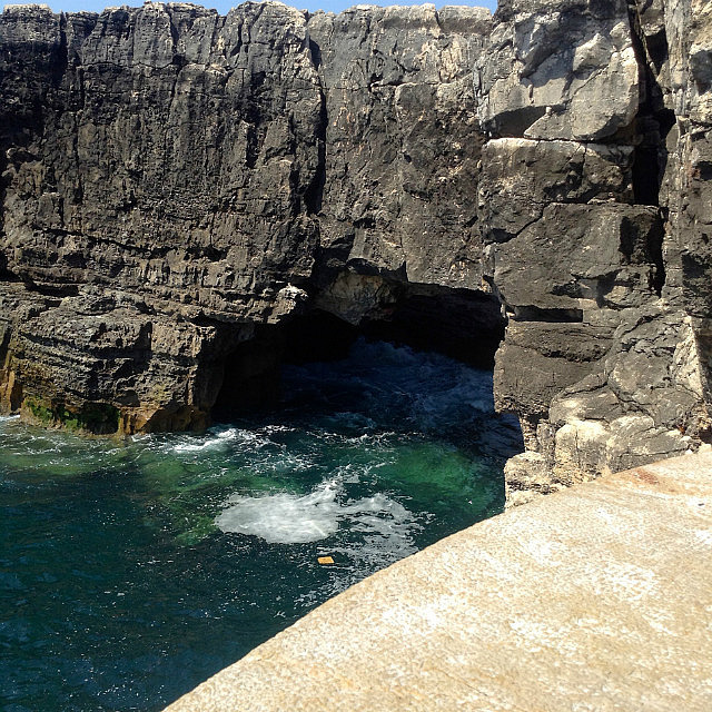 Caves and cliffs