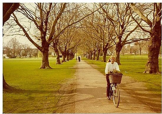 Bike riding in Cambridge