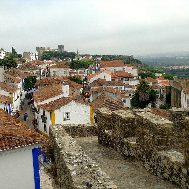 Intact city walls