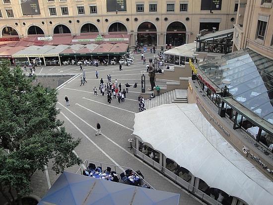 Brad in Nelson Mandela Square