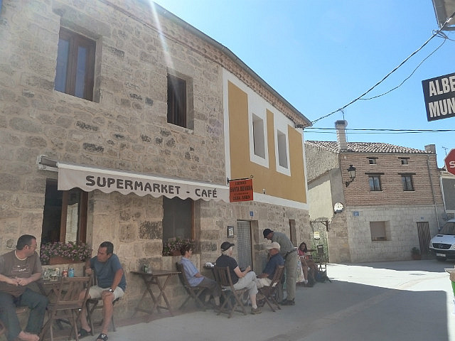Main street of Hontanas ( opp albergue)