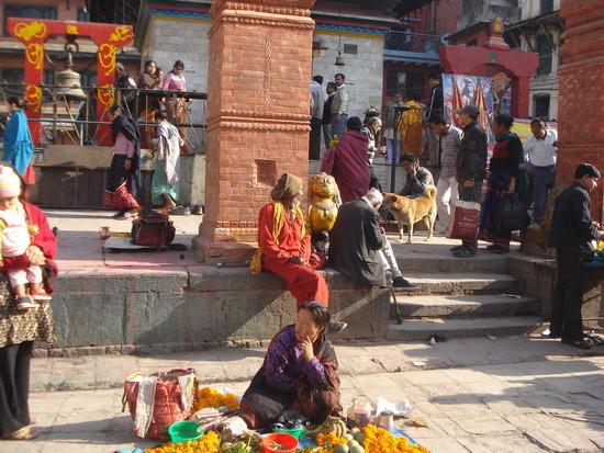 Sadu or Holy Man in Durbar Squaee