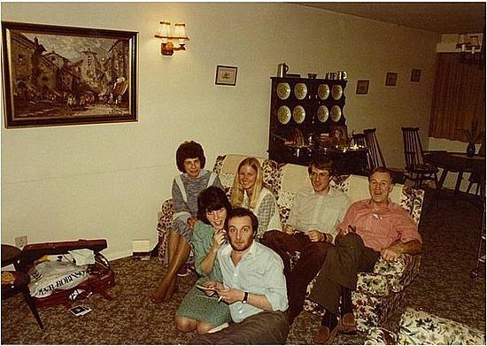 My Papa's sister & family