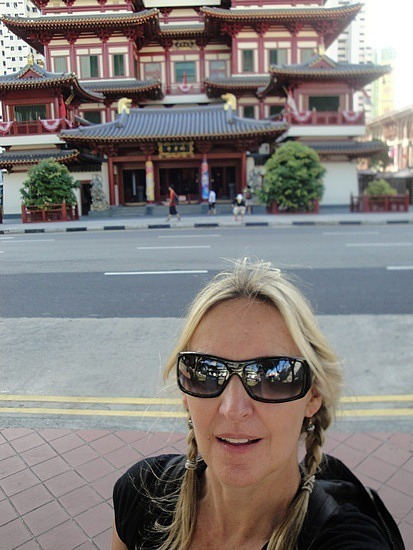 Me & Chinese temple
