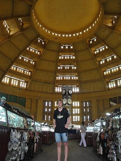 Nath inside Central Markets