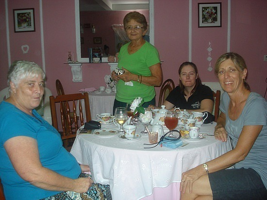 Some of the girls at the High Tea