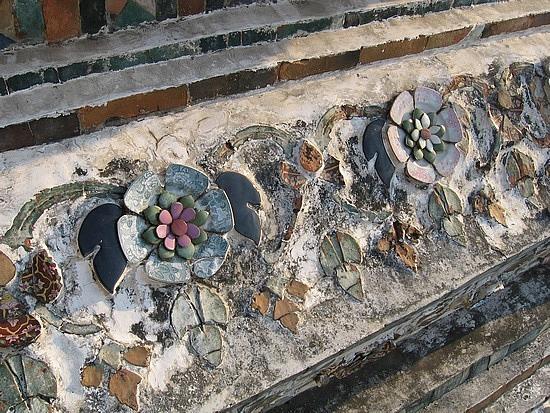 China mosaic of temple