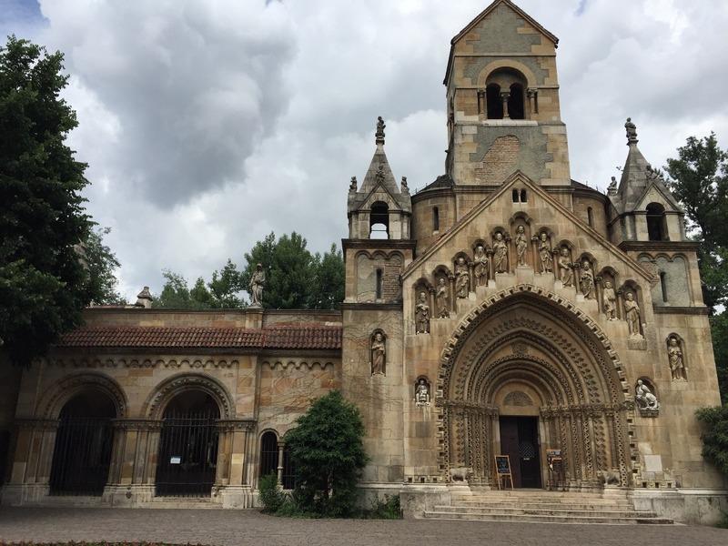 Church where Mum listened to Bach