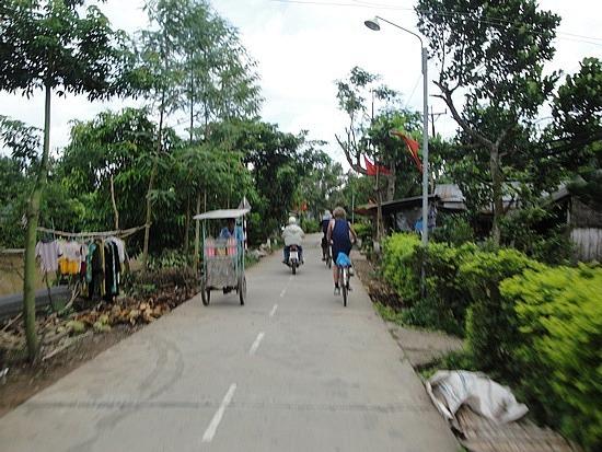 Local traffic - wider road again