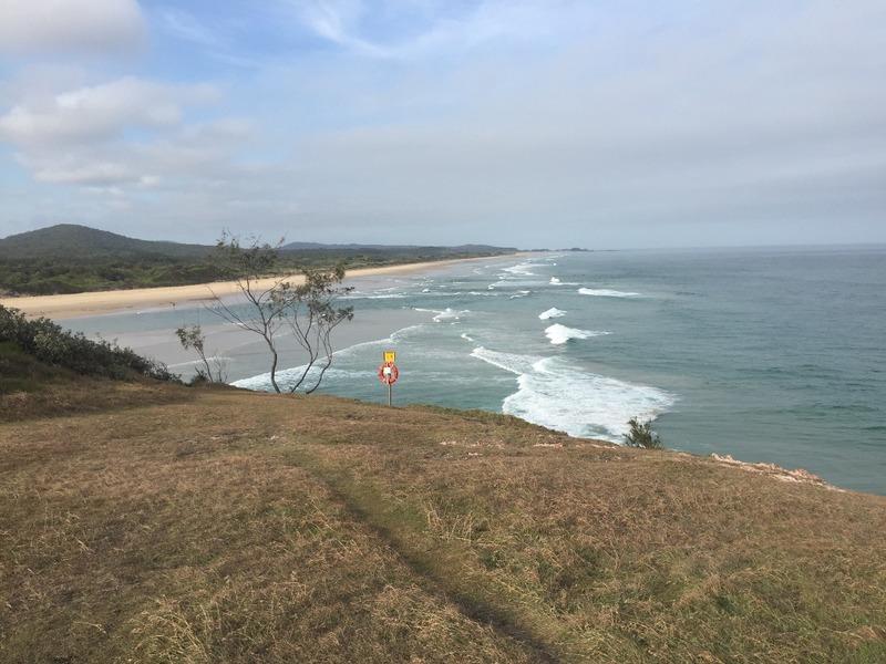 View to Pebbly Beach