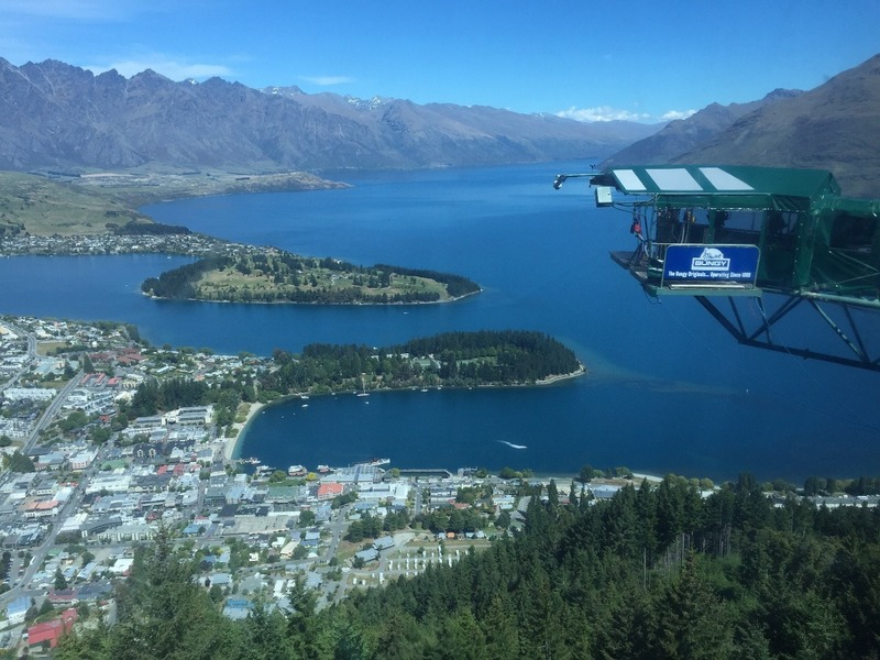 Bungy jumping for the brave