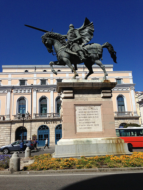 Magnificent statues in Burgos
