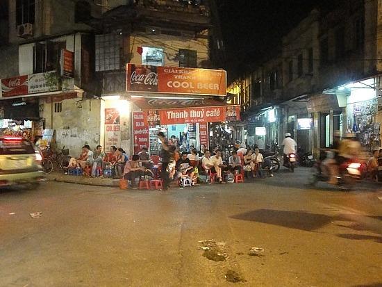 A vietnamese pub/drinking corner