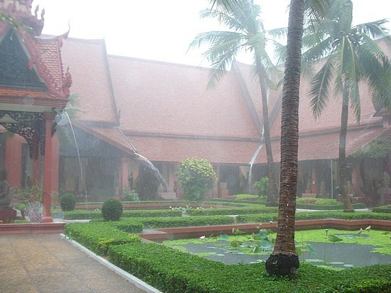 National Museum - torrential downpour