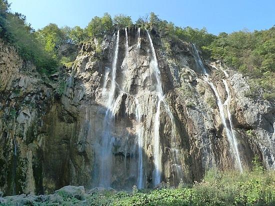 178 foot high waterfall