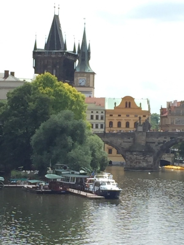 Cool Towers of the Charles Bridge
