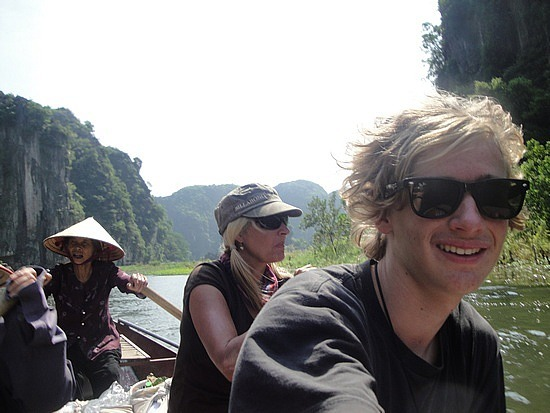 In our rowboat