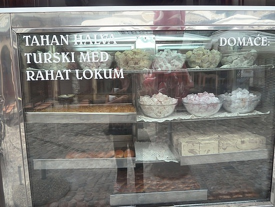 Bought turkish delight here