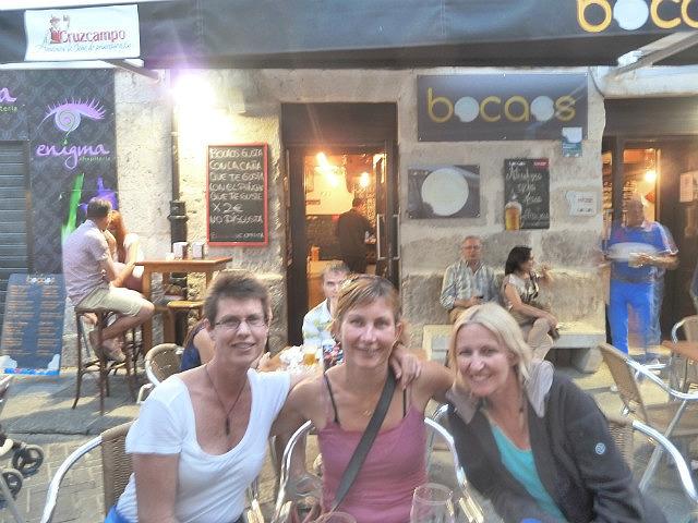 Dinner with Donna ( NZ) and Lisette( Denmark)
