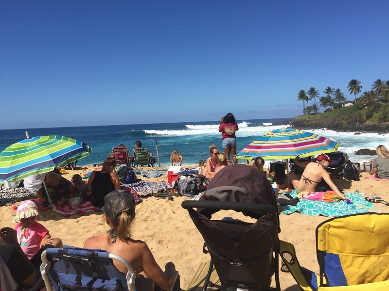 Packed Beach party