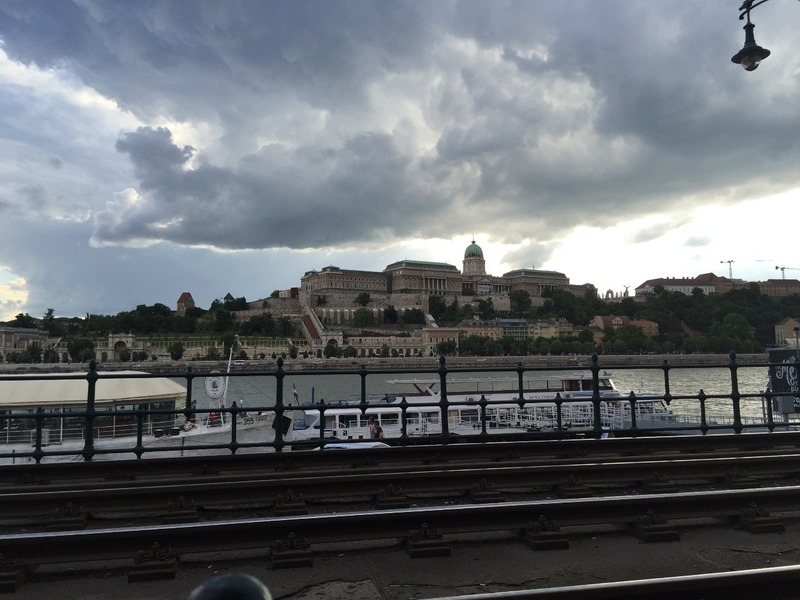 Buda Fortress and impending rain