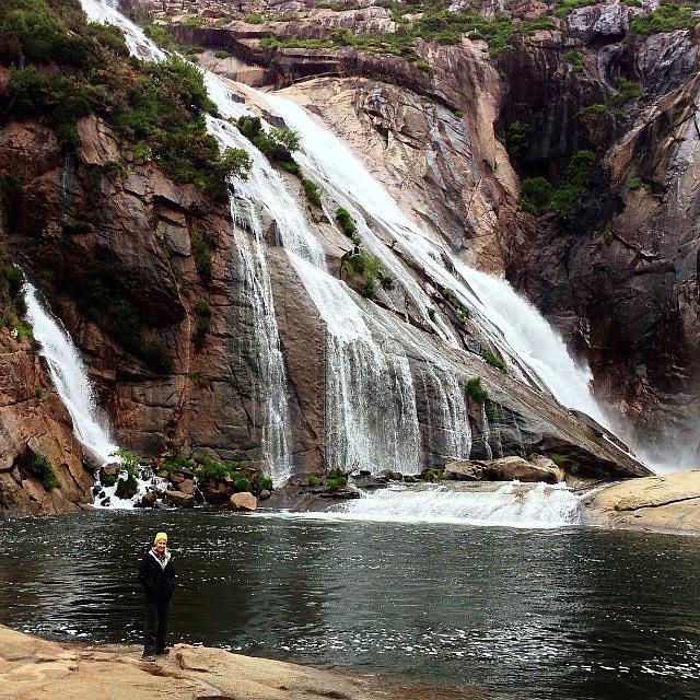 Me at waterfall
