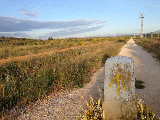 Trail out of Astorga