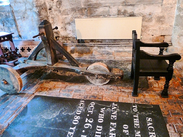 Ducking chair torture