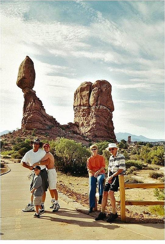 Hot desert hike